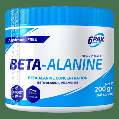 6Pak Beta-Alanine - 200g