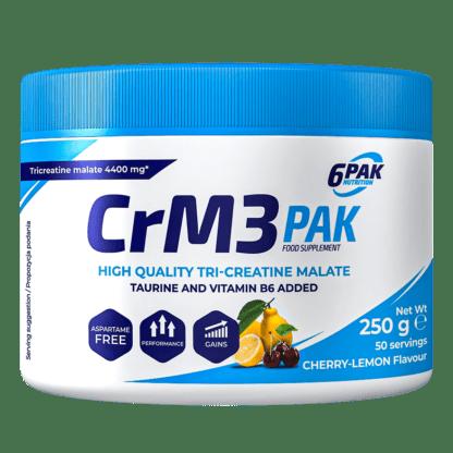 6Pak CrM3 Pak - 250g cherry lemon