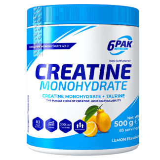 6Pak Creatine Monohydrate - 500g lemon
