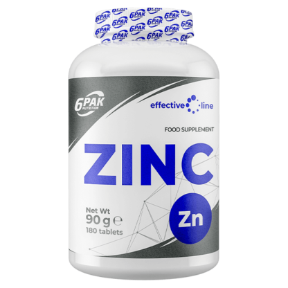 6Pak Effectiv Line Zinc - 180 tabletek