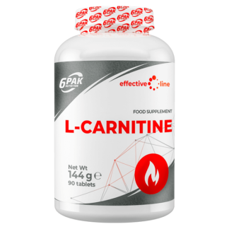 6Pak Effective Line L-Carnitine - 90 tabletek