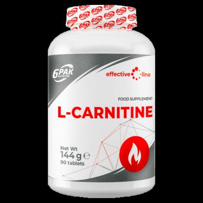 6Pak Effective Line L-Carnitine - 90 tabletek