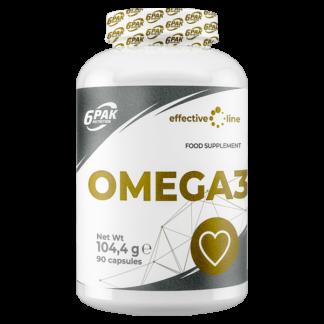 6Pak Effective Line Omega 3 - 90 tabletek