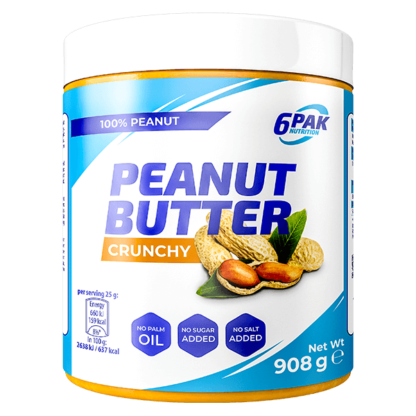 6Pak Peanut Butter Crunchy - 908g