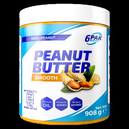 6Pak Peanut Butter Smooth - 908g