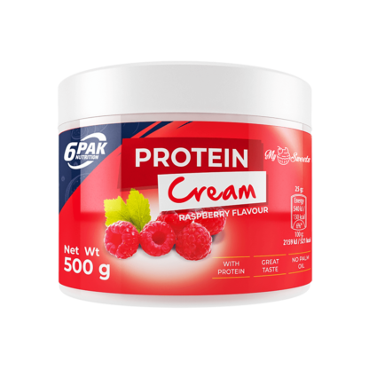 6Pak Protein Cream - 500g raspberry