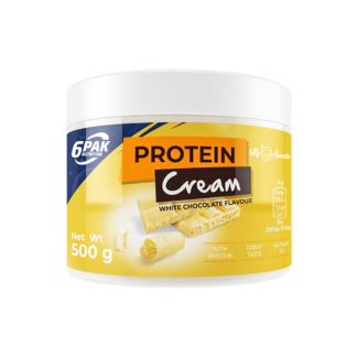 6Pak Protein Cream - 500g white chocolate
