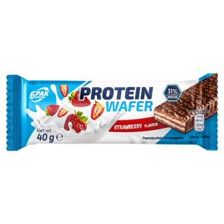 6Pak Protein Wafer - 40g strawberry