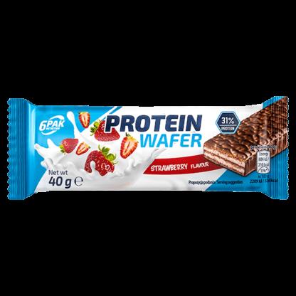 6Pak Protein Wafer - 40g strawberry