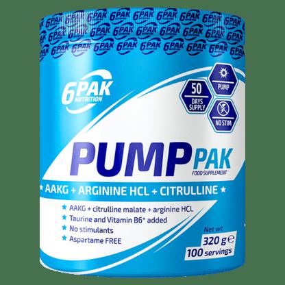 6Pak Pump Pak - 320g