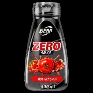 6Pak Zero Sauce - 500ml hot ketchup