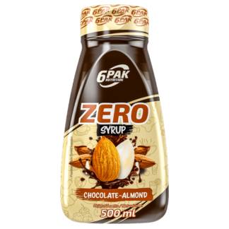 6Pak Zero Syrup - 500ml chocolate almond