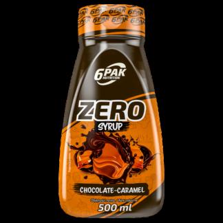 6Pak Zero Syrup - 500ml chocolate caramel
