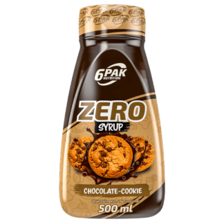 6Pak Zero Syrup - 500ml chocolate cookie