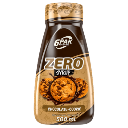 6Pak Zero Syrup - 500ml chocolate cookie