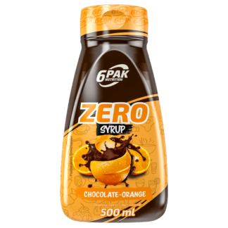6Pak Zero Syrup - 500ml chocolate orange