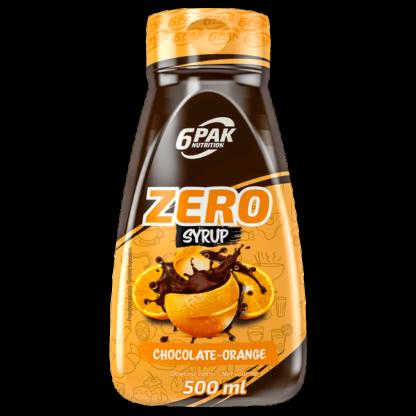 6Pak Zero Syrup - 500ml chocolate orange