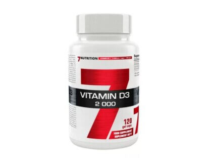 7Nutrition Vitamin D3 2000 - 120 kaps.