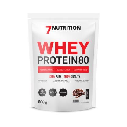 7Nutrition Whey Protein 80 500g - czekolada