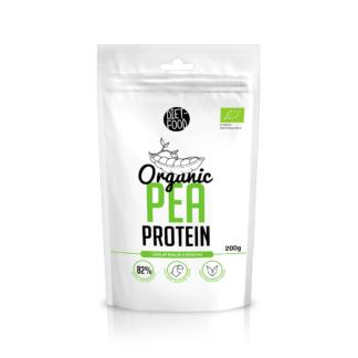 Diet Food Organic Pea Protein - 200g