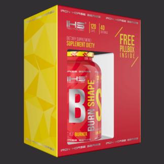 IHS Burn Shape + free pillbox - 120 kaps