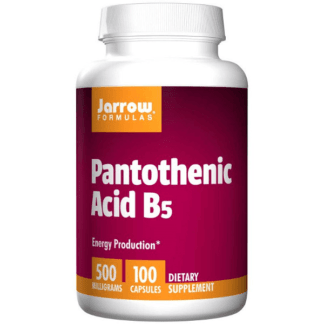 Jarrow Pantothenic Acid B5 500mg - 100 kaps