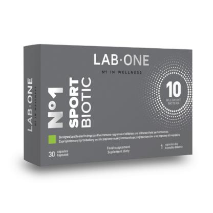 Lab One Sport Biotic - 30 kaps