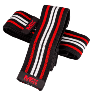 MEX Knee Wraps Red (Opaski na kolana) - 1 komplet - 1