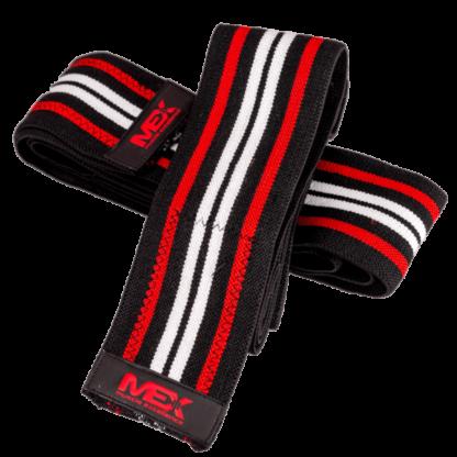 MEX Knee Wraps Red (Opaski na kolana) - 1 komplet - 1