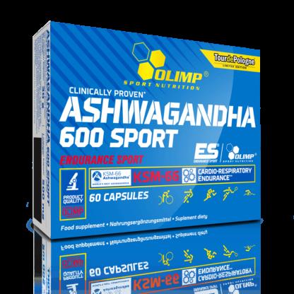 Olimp Ashwagandha 600 Sport KSM-66 - 60 kaps