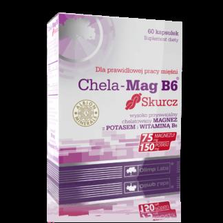 Olimp Chela Mag B6 Skurcz - 60 kaps