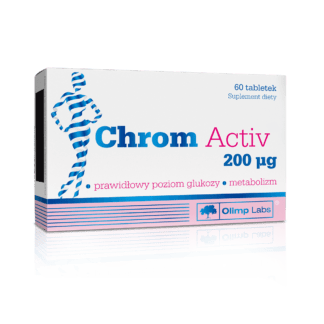 Olimp Chrom Active 200mcg - 60 kaps