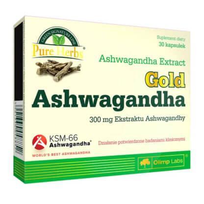 Olimp Gold Ashwahandha - 30 kaps.