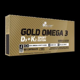 Olimp Gold Omega 3 D3 + K2 Sport Edition - 60 kaps