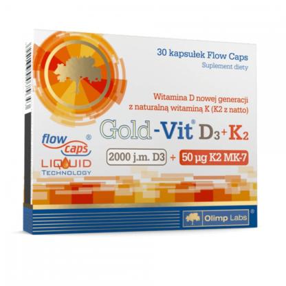 Olimp Gold-Vit D3 + K2 - 30 kaps