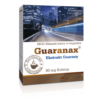 Olimp Guaranax - 60 kaps