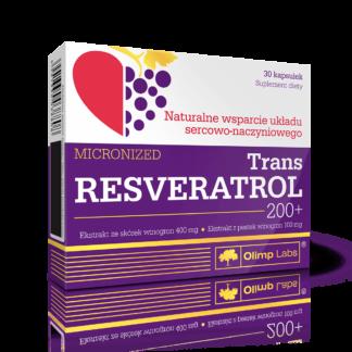 Olimp Trans Resveratrol 200+ - 30 kaps