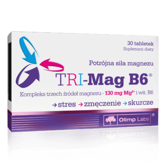 Olimp Tri-Mag B6 - 30 tabletek
