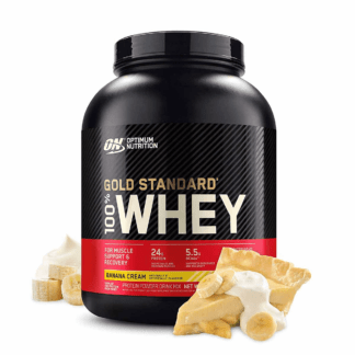 Optimum Nutrition 100% Gold Standard Whey 2270g - banan krem
