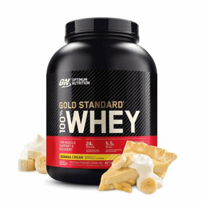 Optimum Nutrition 100% Gold Standard Whey 2270g - banan krem