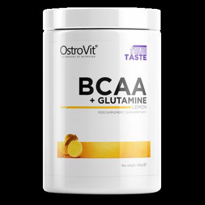 Ostrovit BCAA + Glutamine 500g - cytryna