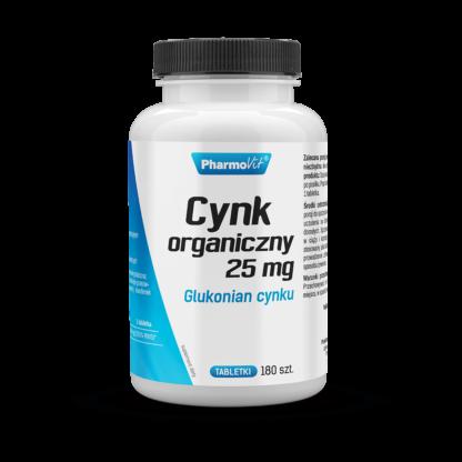 Pharmovit Cynk Organiczny 25 mg - 180 tabl