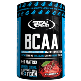 Real Pharm BCAA 2 1 1 Matrix - 400g Cherry