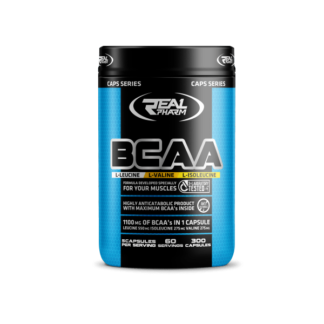 Real Pharm BCAA - 300 kaps