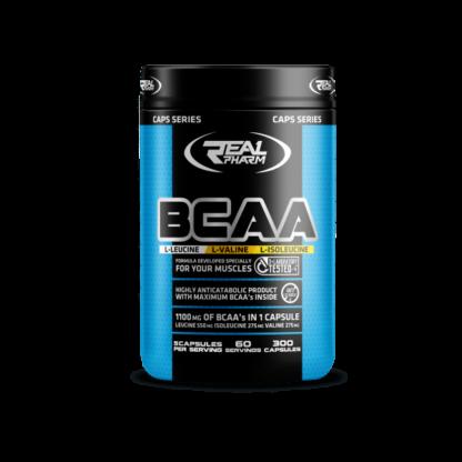 Real Pharm BCAA - 300 kaps