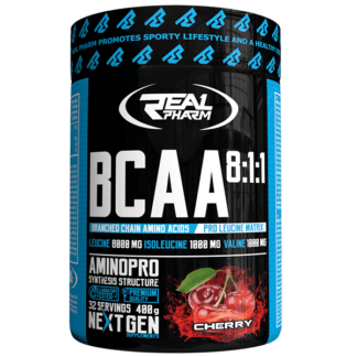 Real Pharm BCAA 8 1 1 Instant - 400g cherry