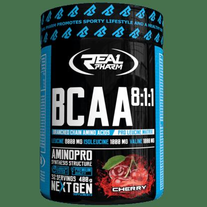 Real Pharm BCAA 8 1 1 Instant - 400g cherry