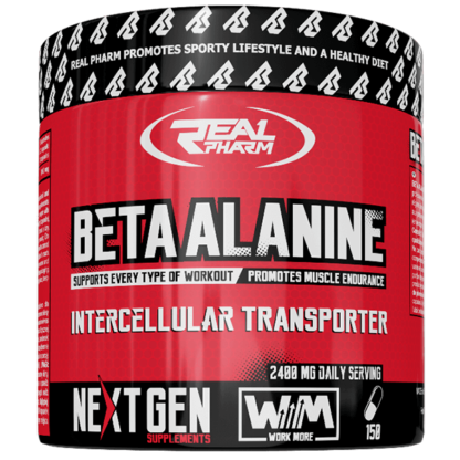 Real Pharm Beta Alanine - 150 tabletek