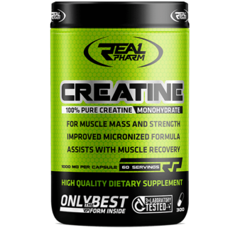 Real Pharm Creatine - 300 kaps