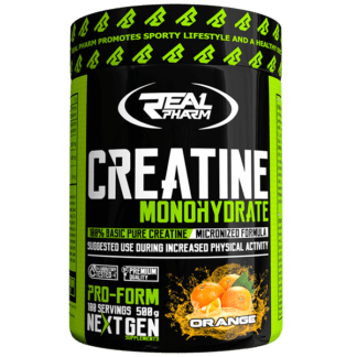 Real Pharm Creatine Monohydrate - 500 g orange